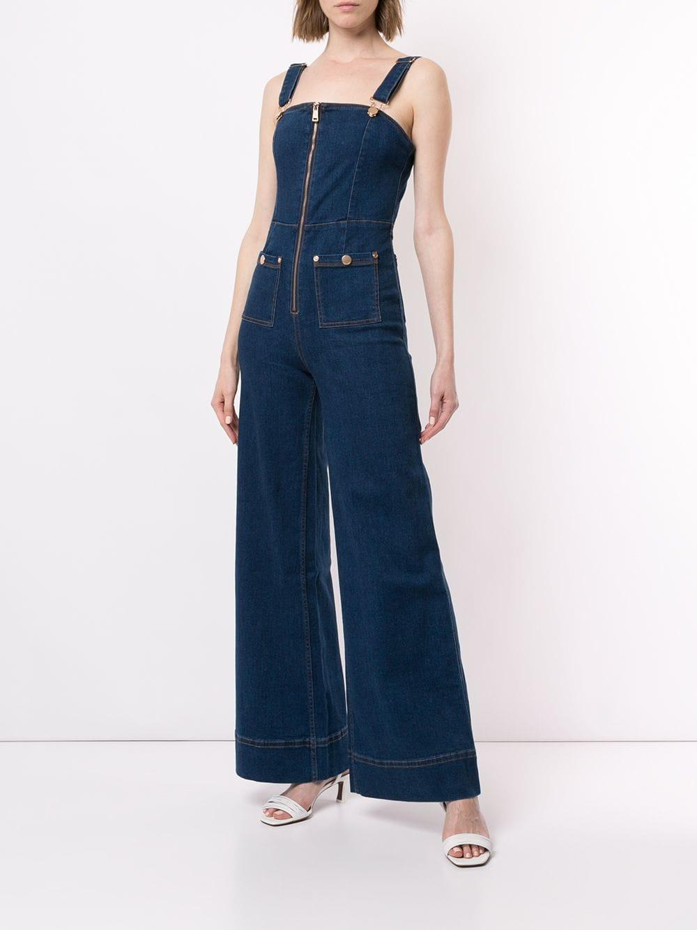 5b3d100417b Lyst - Alice McCALL Quincy Pinafore Overalls in Blue