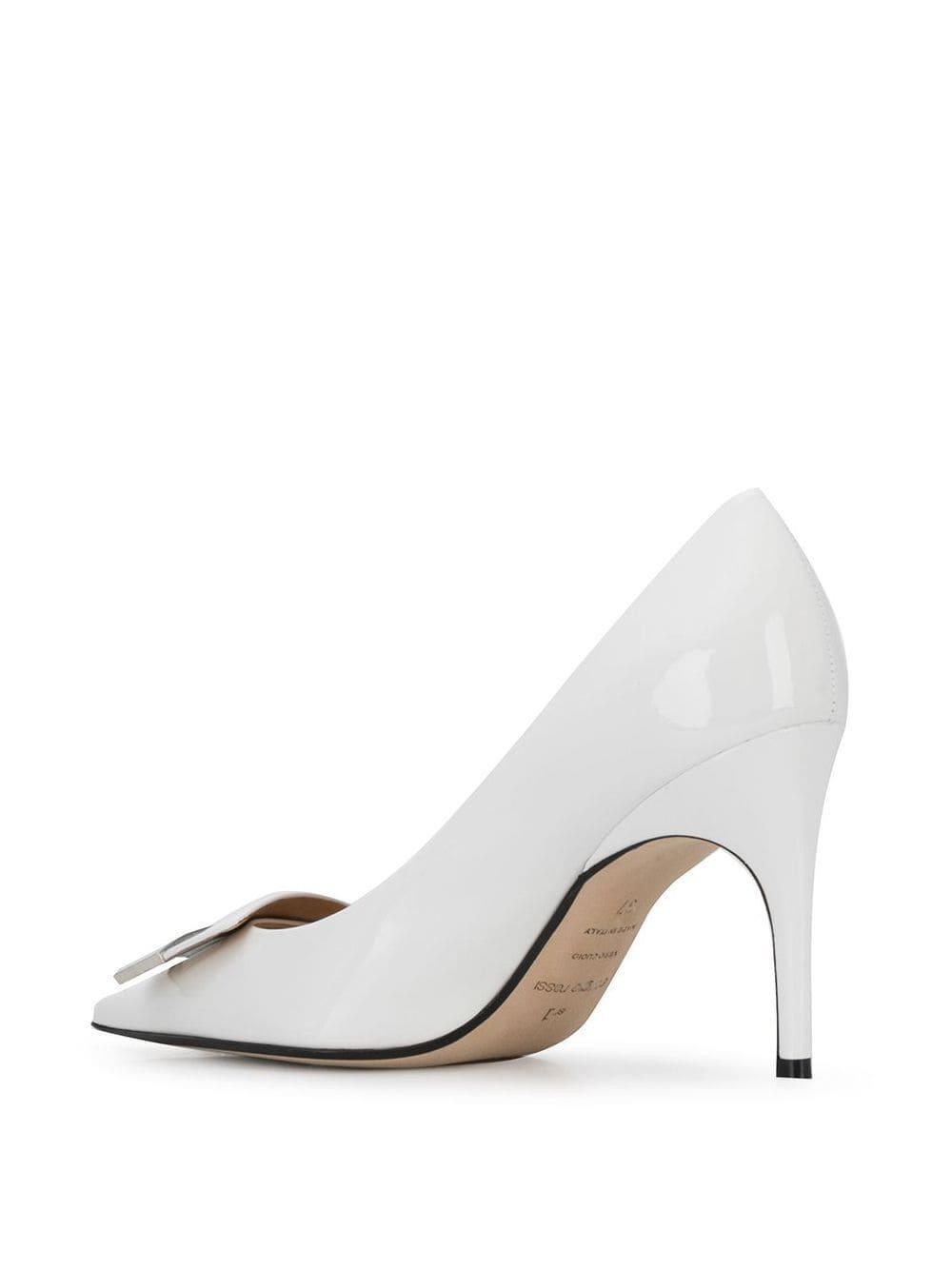 Zapatos de tacón sr1 Sergio Rossi de Cuero de color Blanco