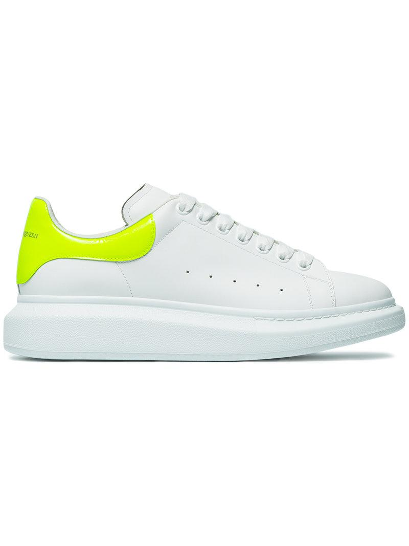 Fluorescent Yellow Oversized Sneakers