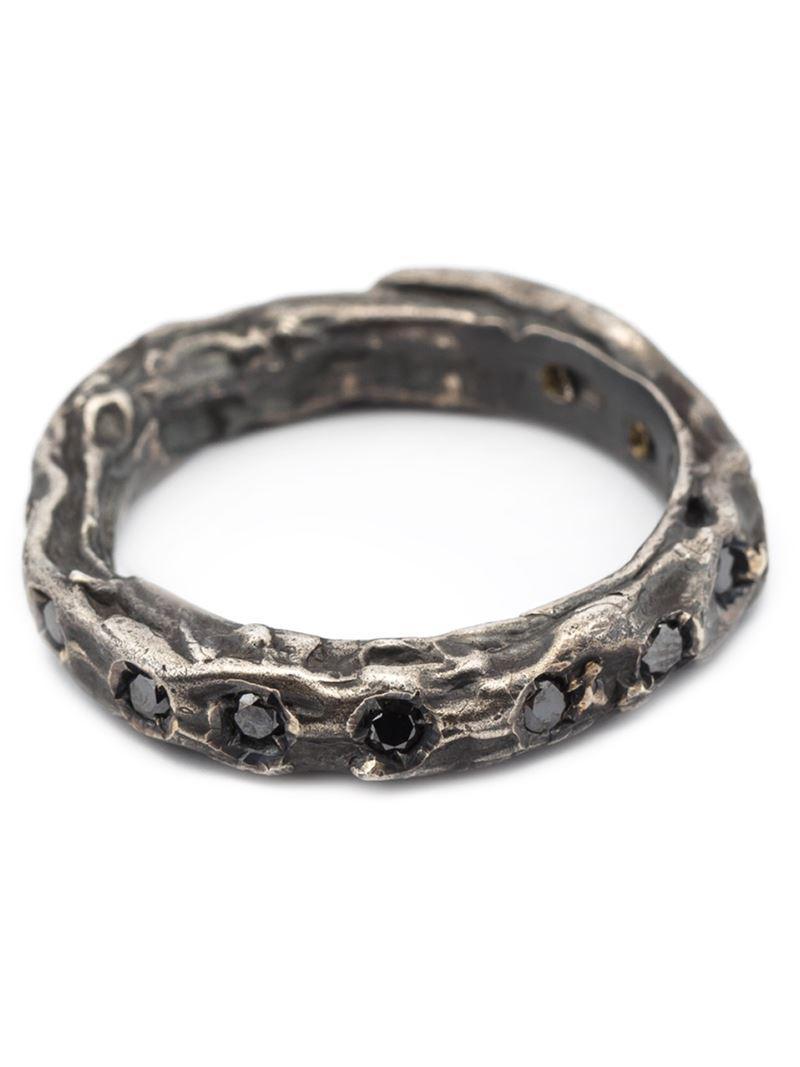Simona Tagliaferri Wrinkle ring - Metallic qQZ9TyogyQ