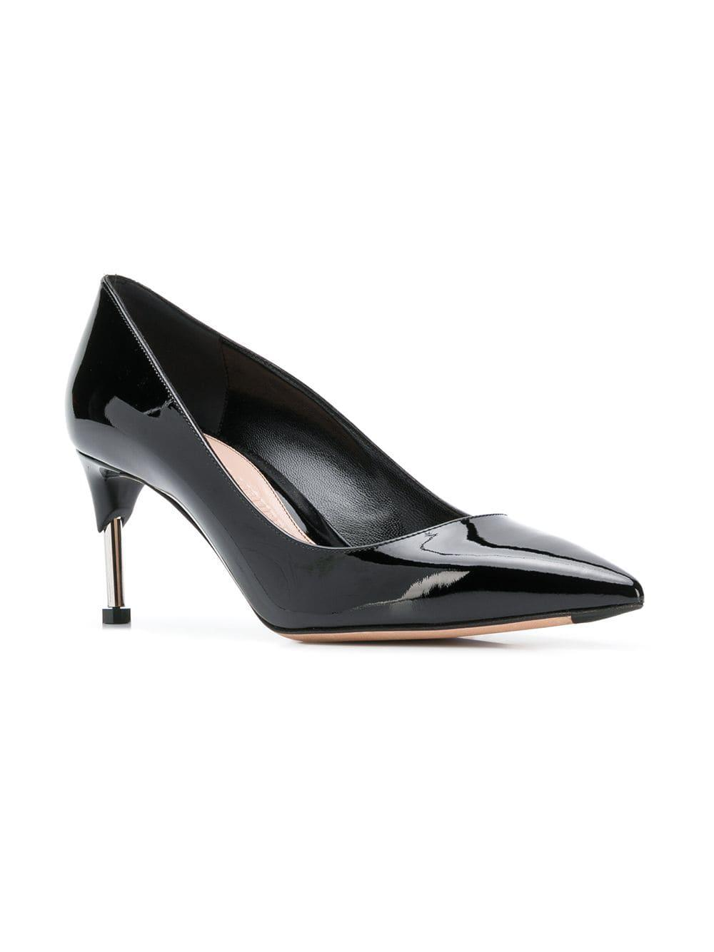 53d6b49e8b00 Lyst - Alexander McQueen Pointed Toe Pumps in Black - Save 50%