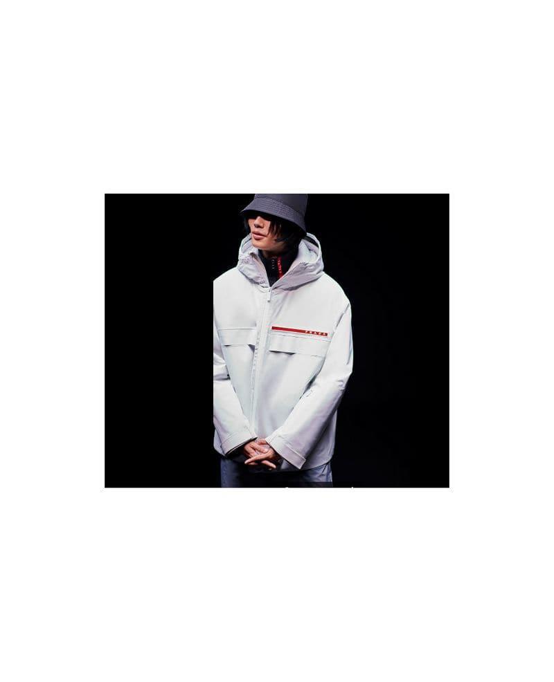 8970d36b Prada Black Linea Rossa Jacket for men
