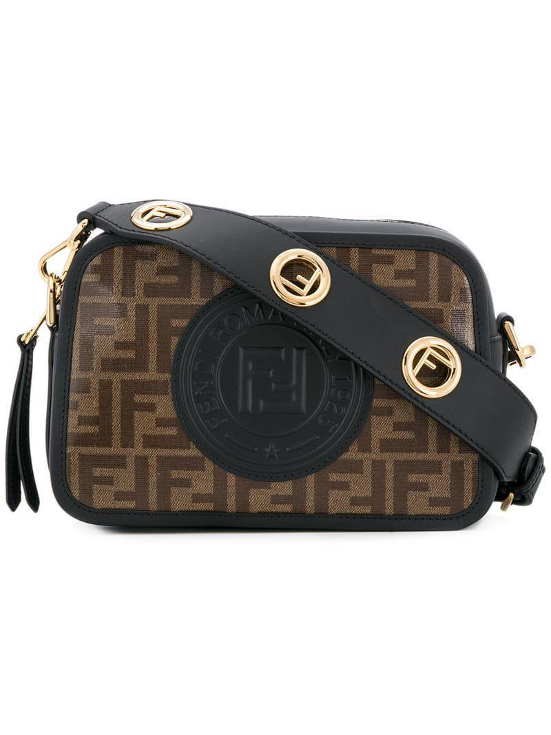 5661a1dd Fendi Black Crossbody Bag