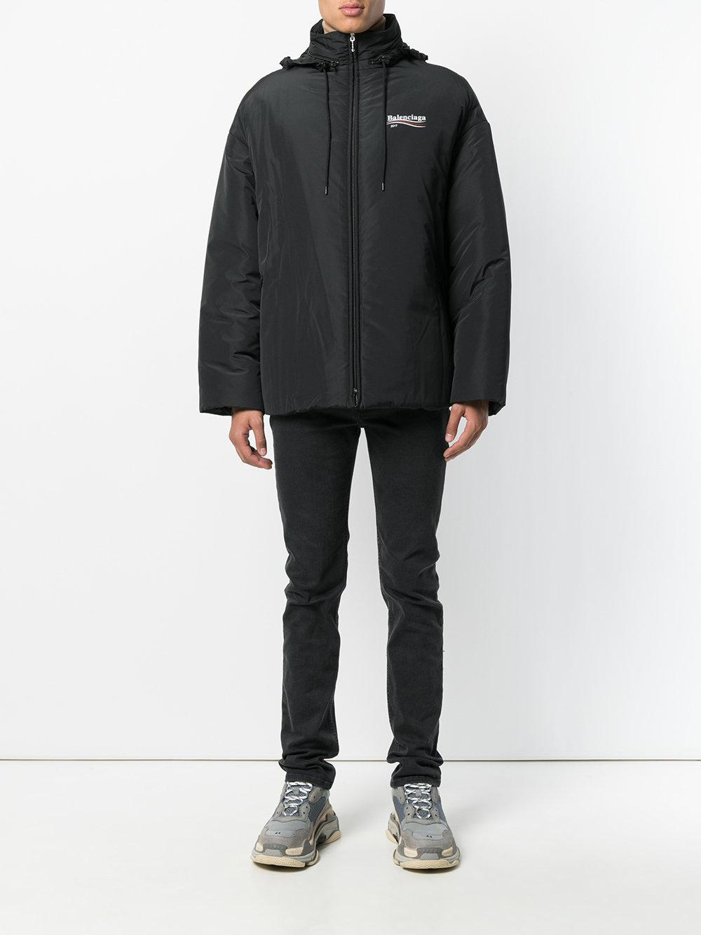 Balenciaga 2017 Padded Jacket in Black for Men - Lyst 178b083058c