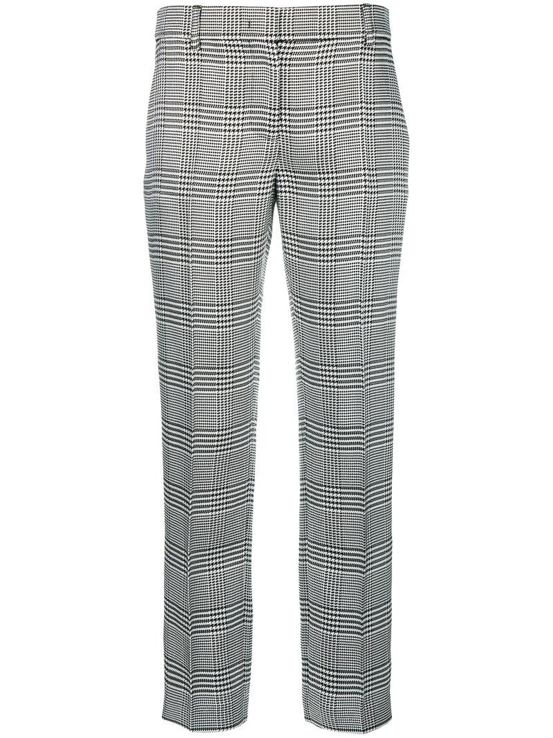 Emilio Pucci plaid cropped tailored trousers For Cheap Price a3h3KHPWH