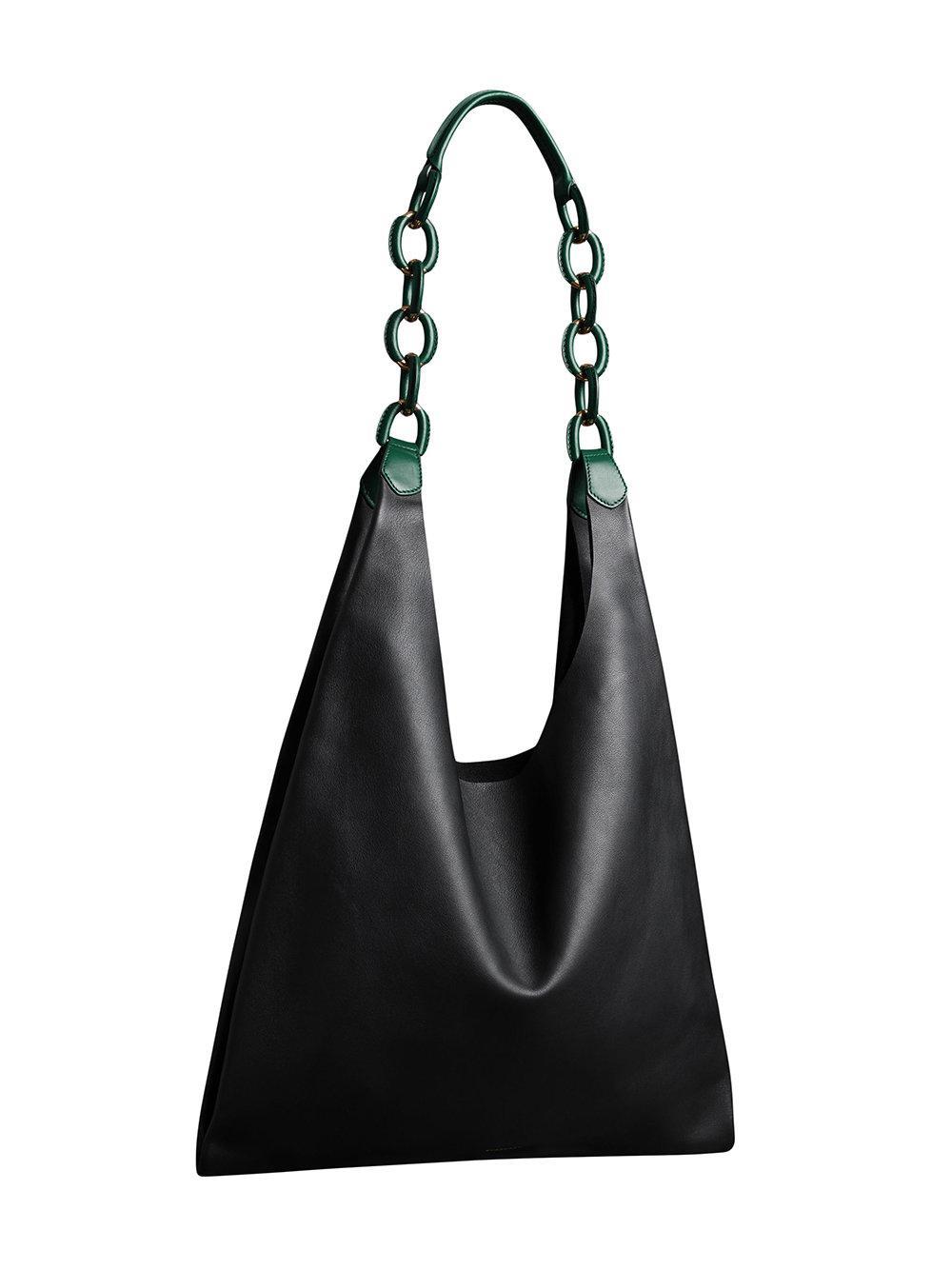 Burberry - Black Medium Two-tone Leather Shopper - Lyst. View fullscreen 30cc0fb9fc515