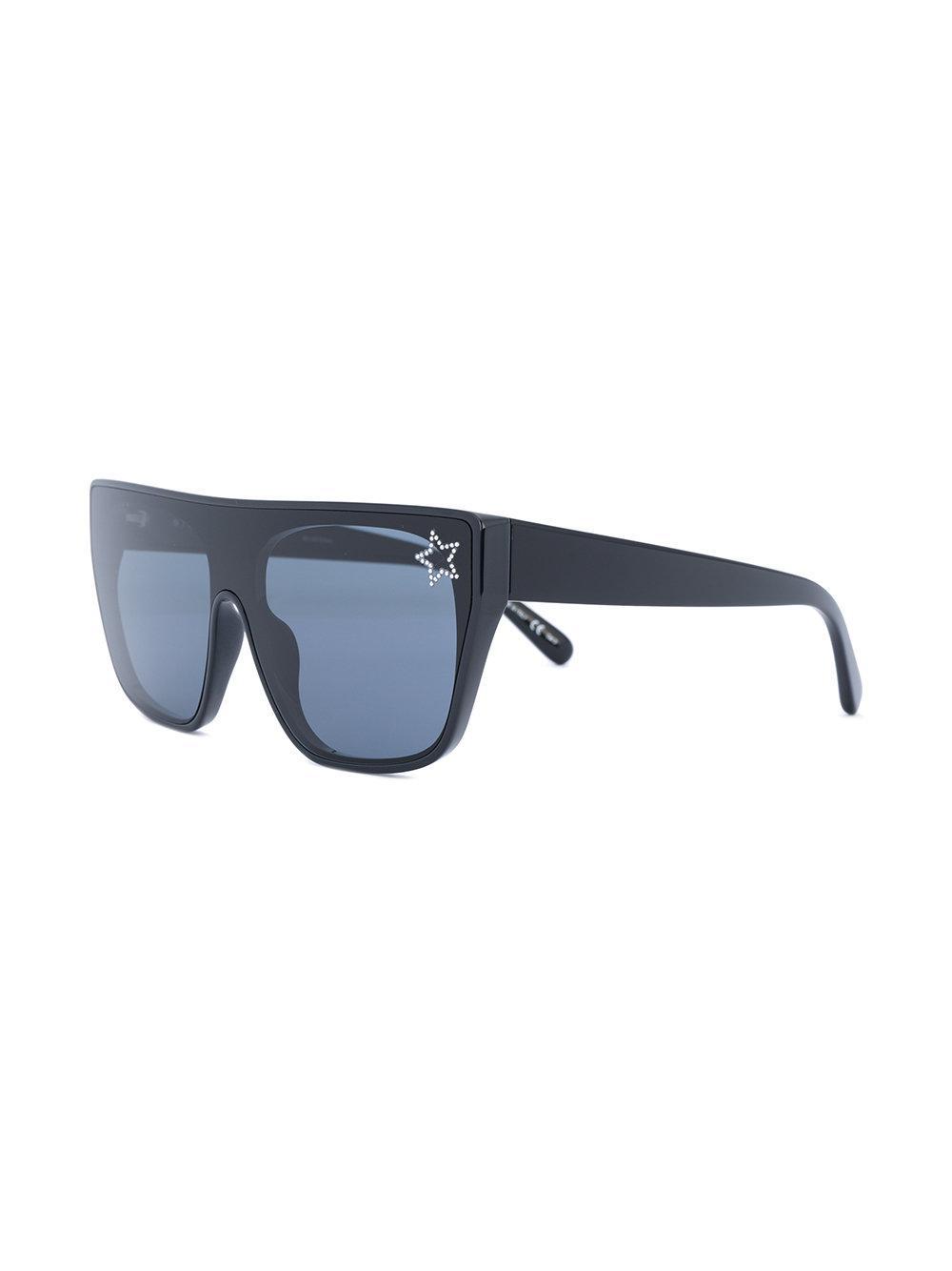 Stella McCartney Oversized Sunglasses in Black