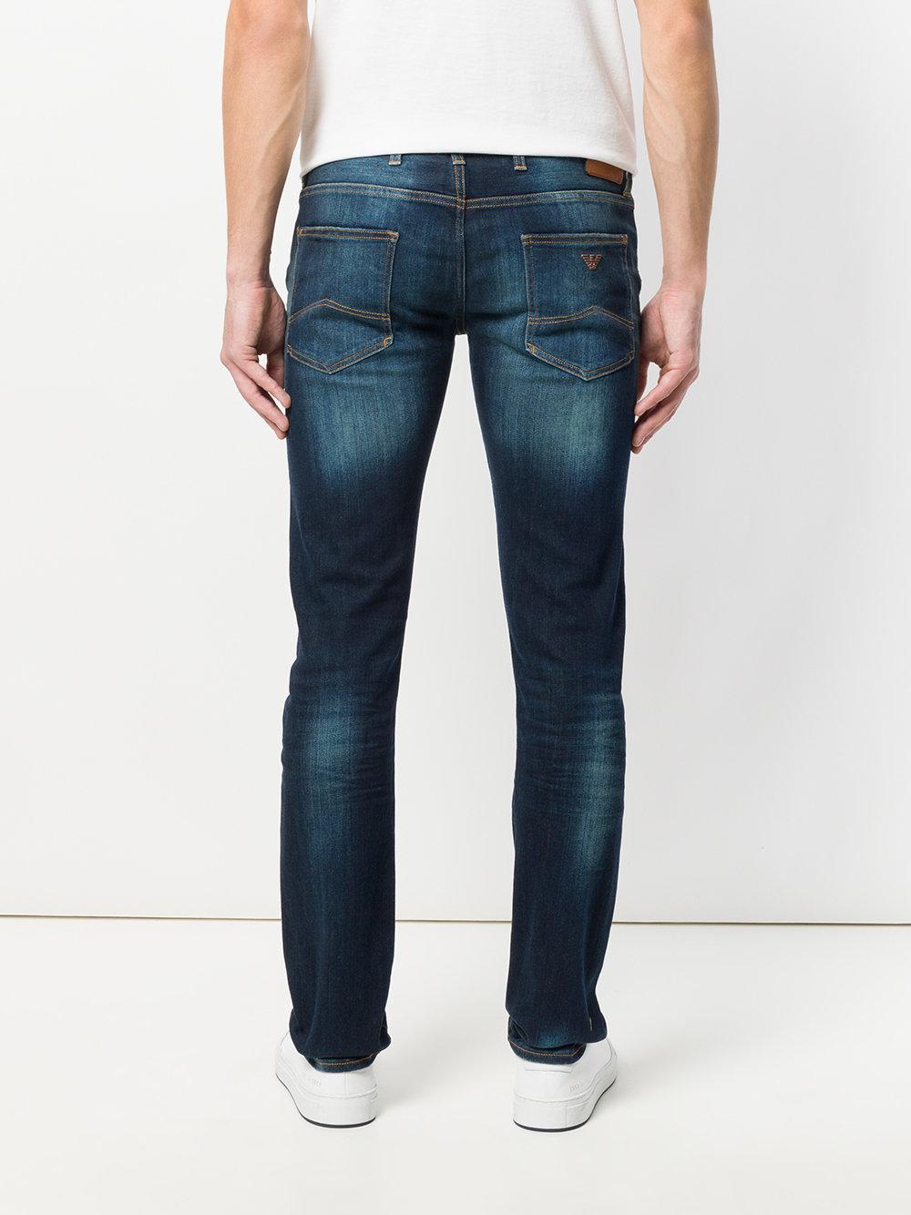 mid-rise skinny jeans - Blue Emporio Armani orK1WcQrg
