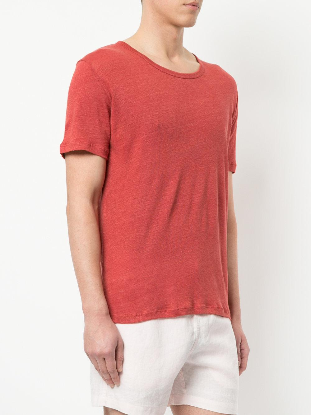 Outlet Locations Online Official Sale Online V-neck T-shirt - Red Venroy eOt4VaxT