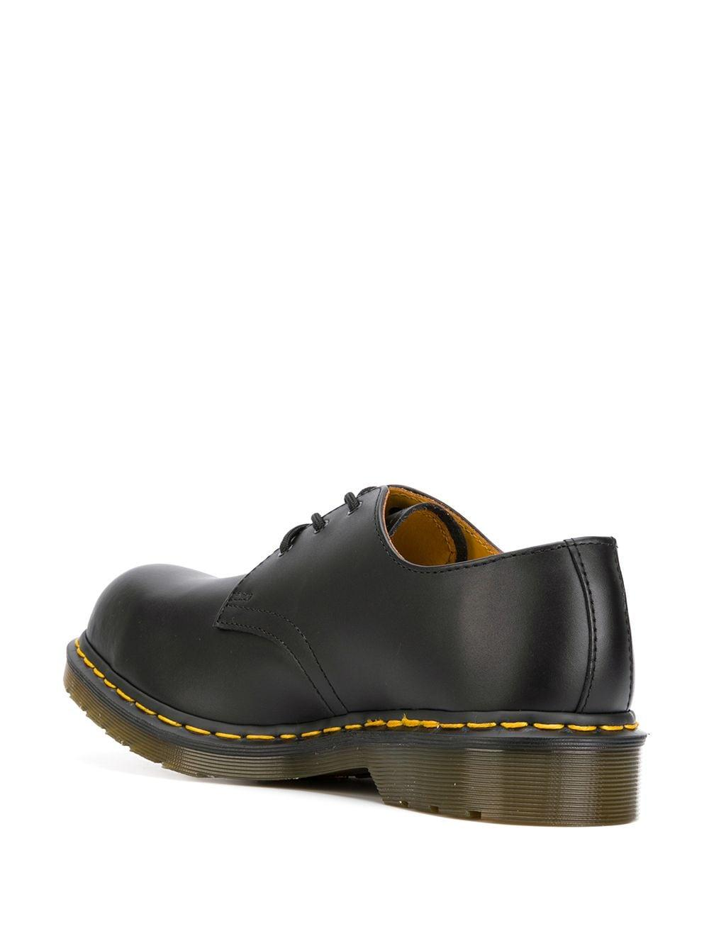 Dr. Martens Leather Chunky Derby Shoes in Black for Men