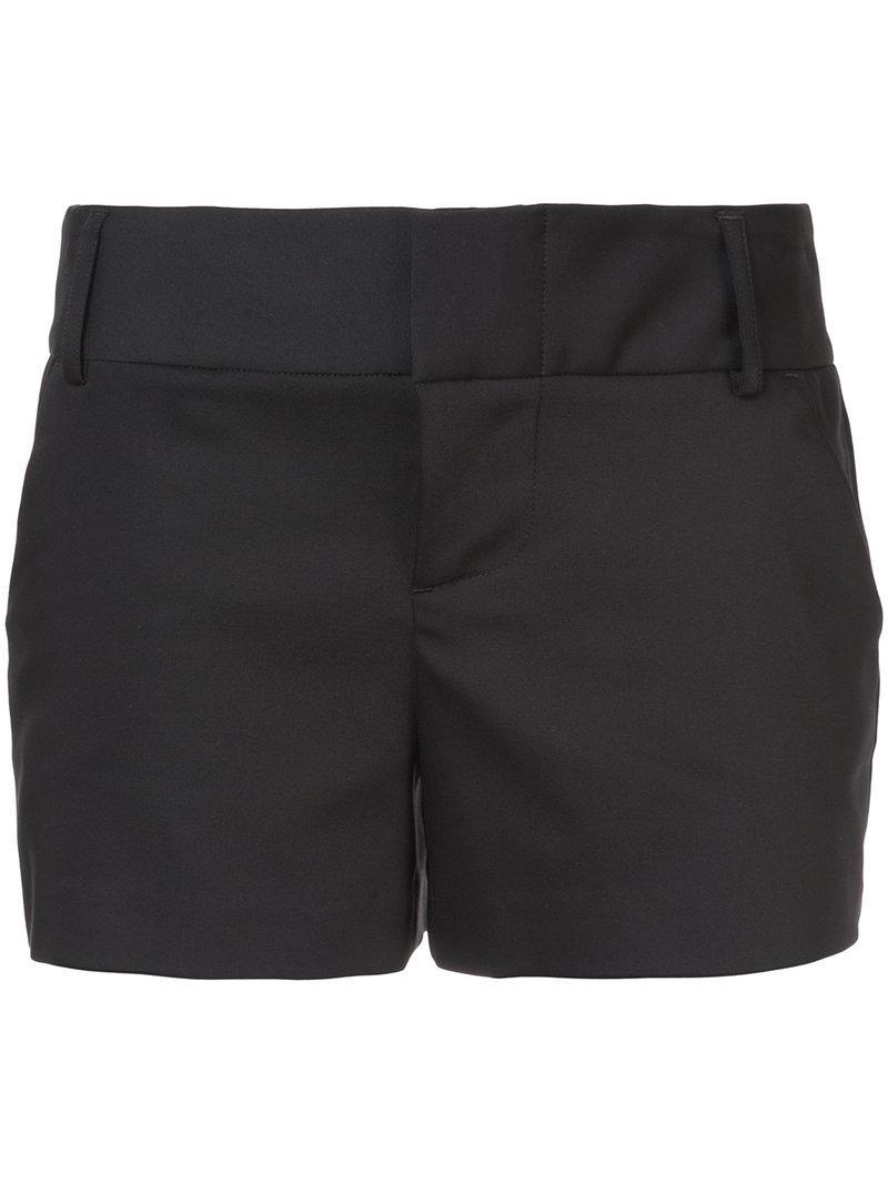 tailored shorts - Black Alice & Olivia 6sNUzvF