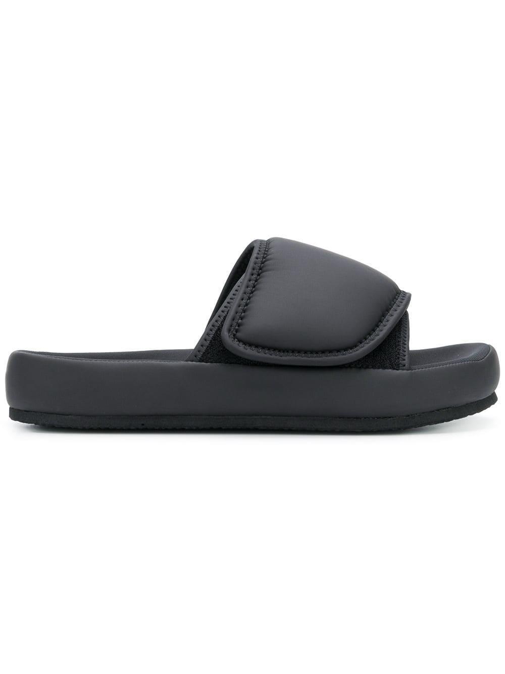 Yeezy Neoprene Bulky Sandals in Black