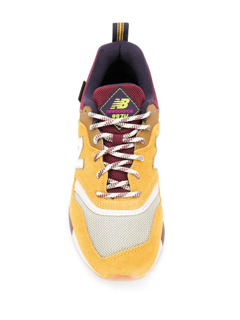 new balance 997h yellow