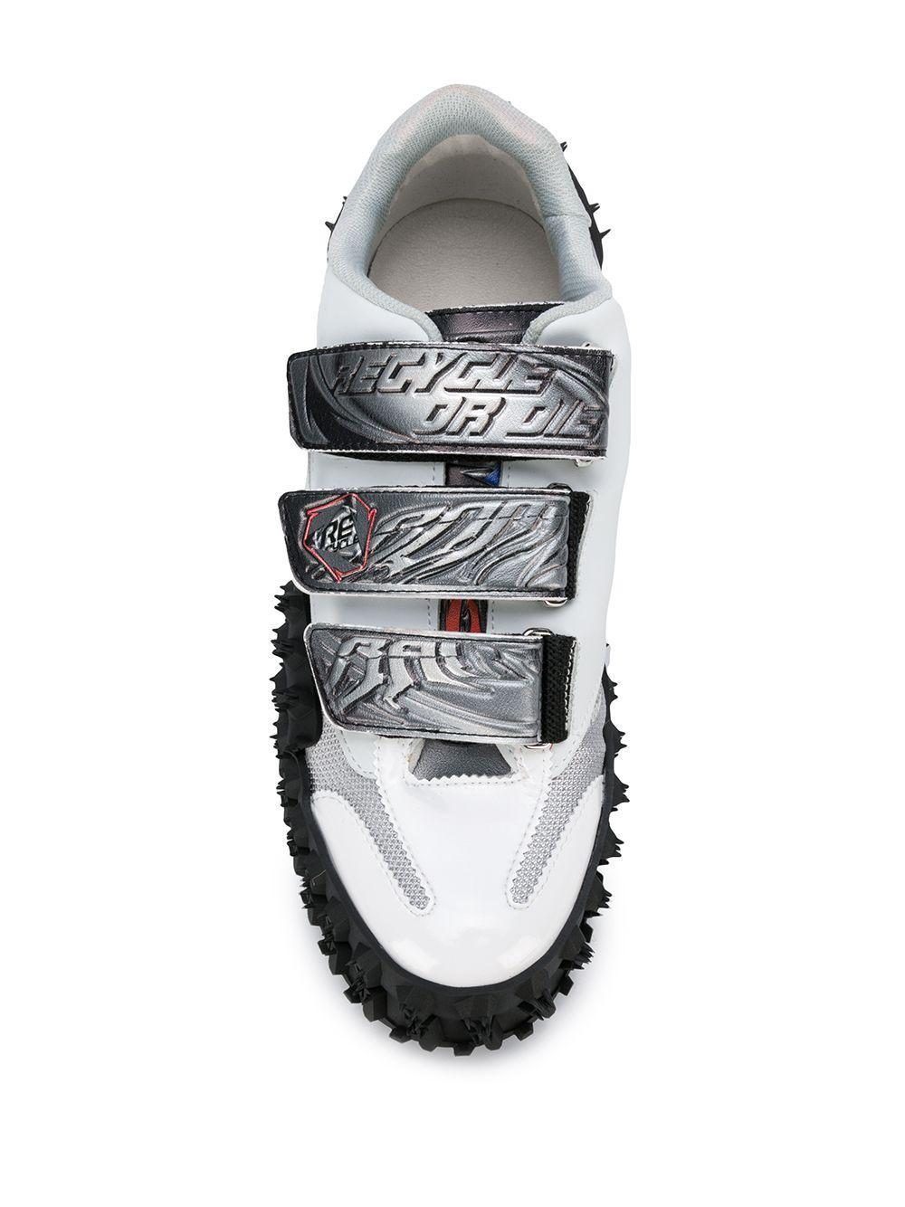 Rombaut Rubber Re-cycle Sneakers in het Wit voor heren