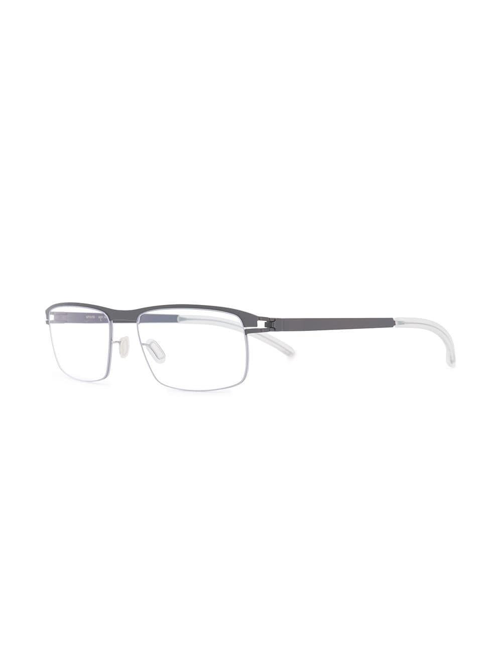 cd6d81db9a5 Mykita - Gray Rectangular Frames Glasses for Men - Lyst. View fullscreen