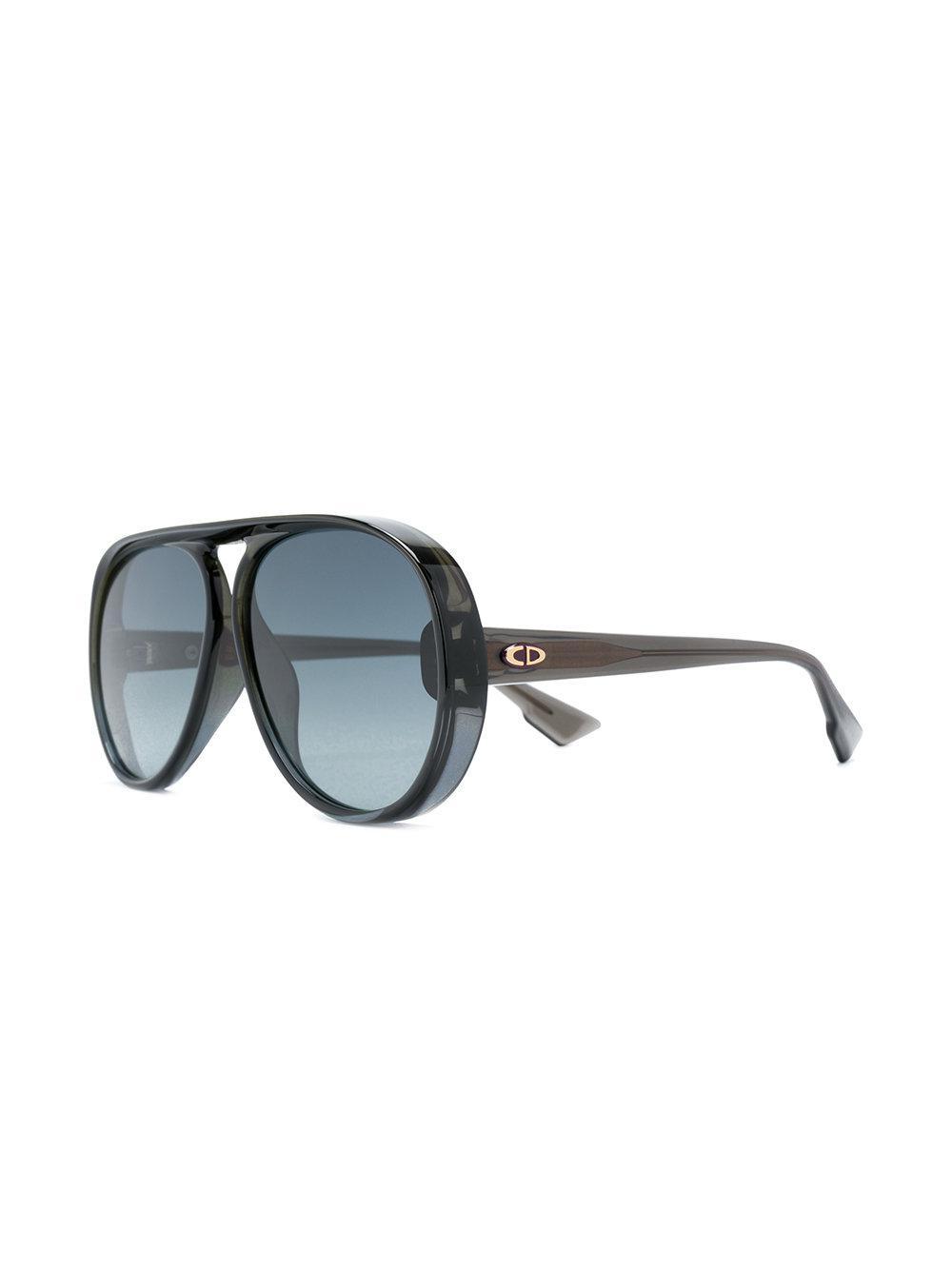Dior - Black Lunettes de soleil Diorlia - Lyst. Afficher en plein écran f296ea07a53e