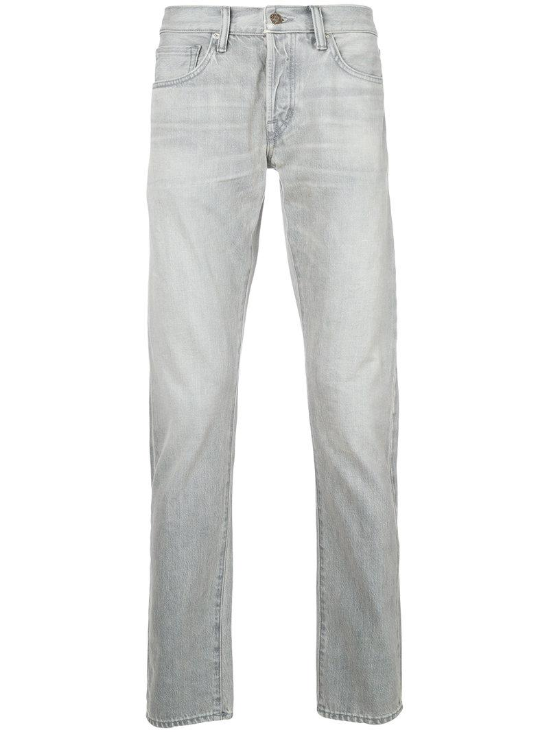 8f18b88169433c Tom Ford Slim-fit Jeans in Gray for Men - Lyst