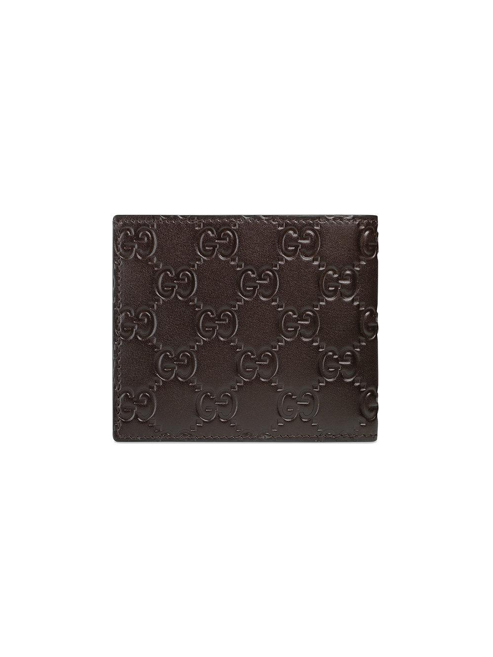 abfc7c4a5ab423 Lyst - Gucci Signature Wallet in Brown for Men
