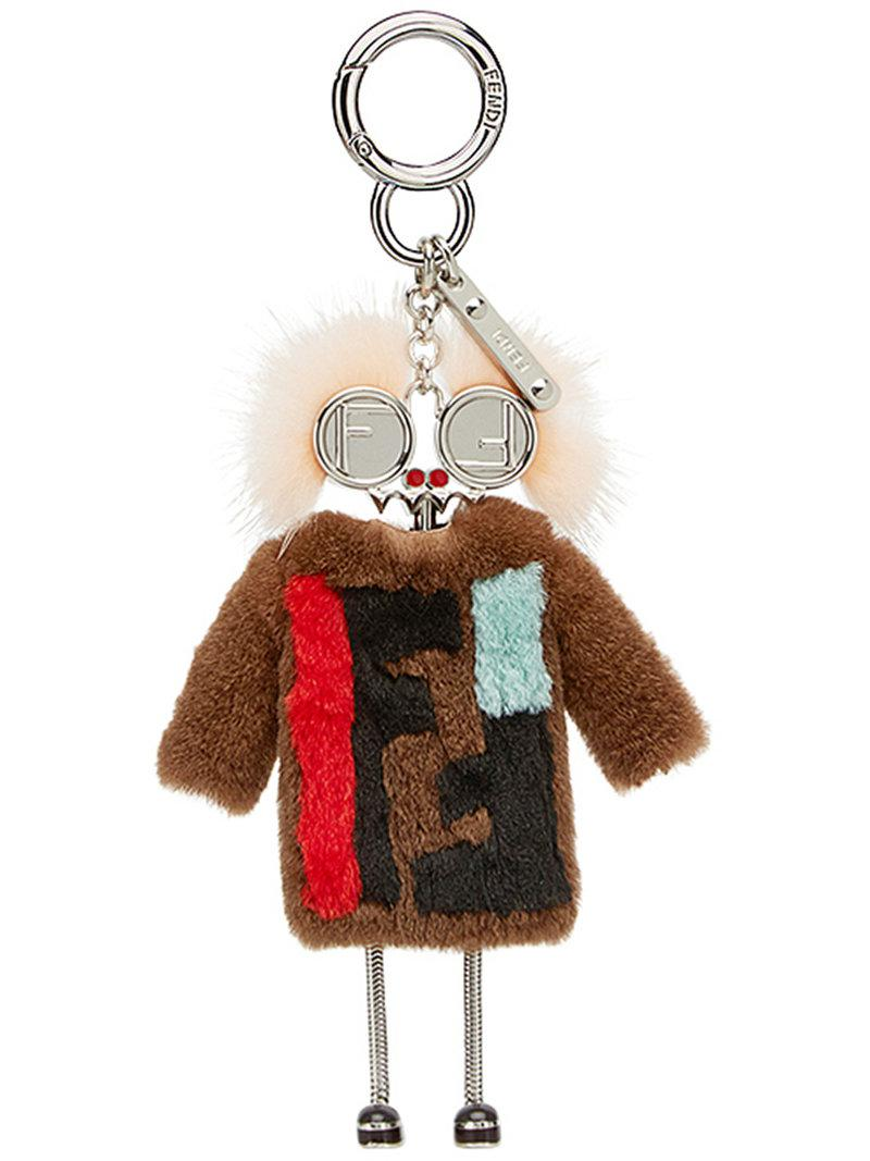 Fendi Teen Witches charm - Brown ByStG