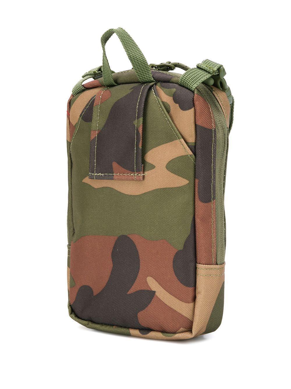 Sacoche à imprimé camouflage Sinclair Herschel Supply Co. pour homme en coloris Vert
