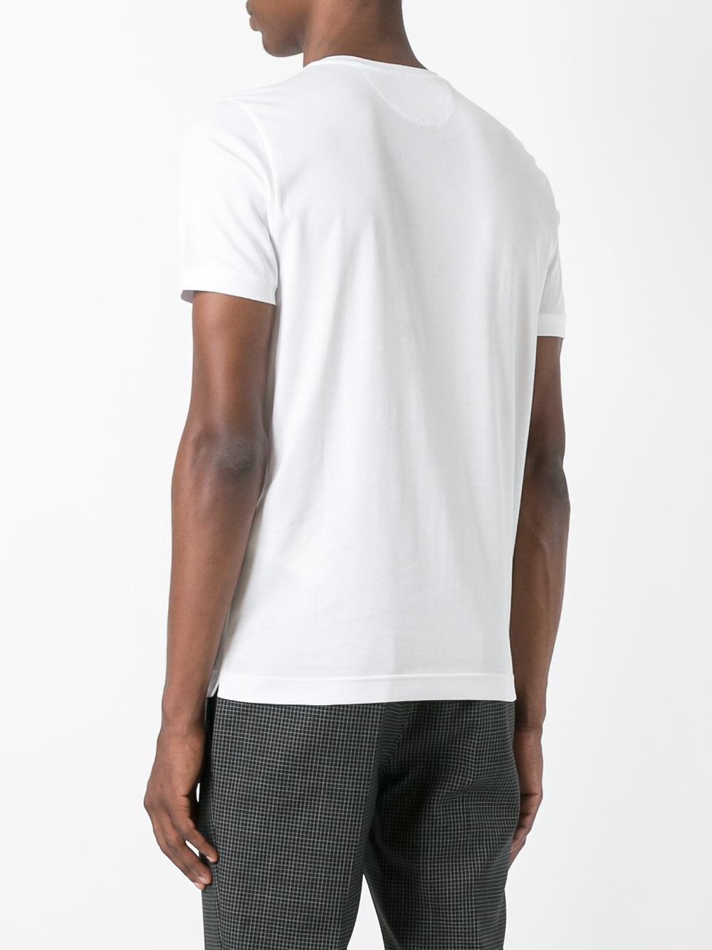 Lyst Fendi No Words T Shirt In White For Men