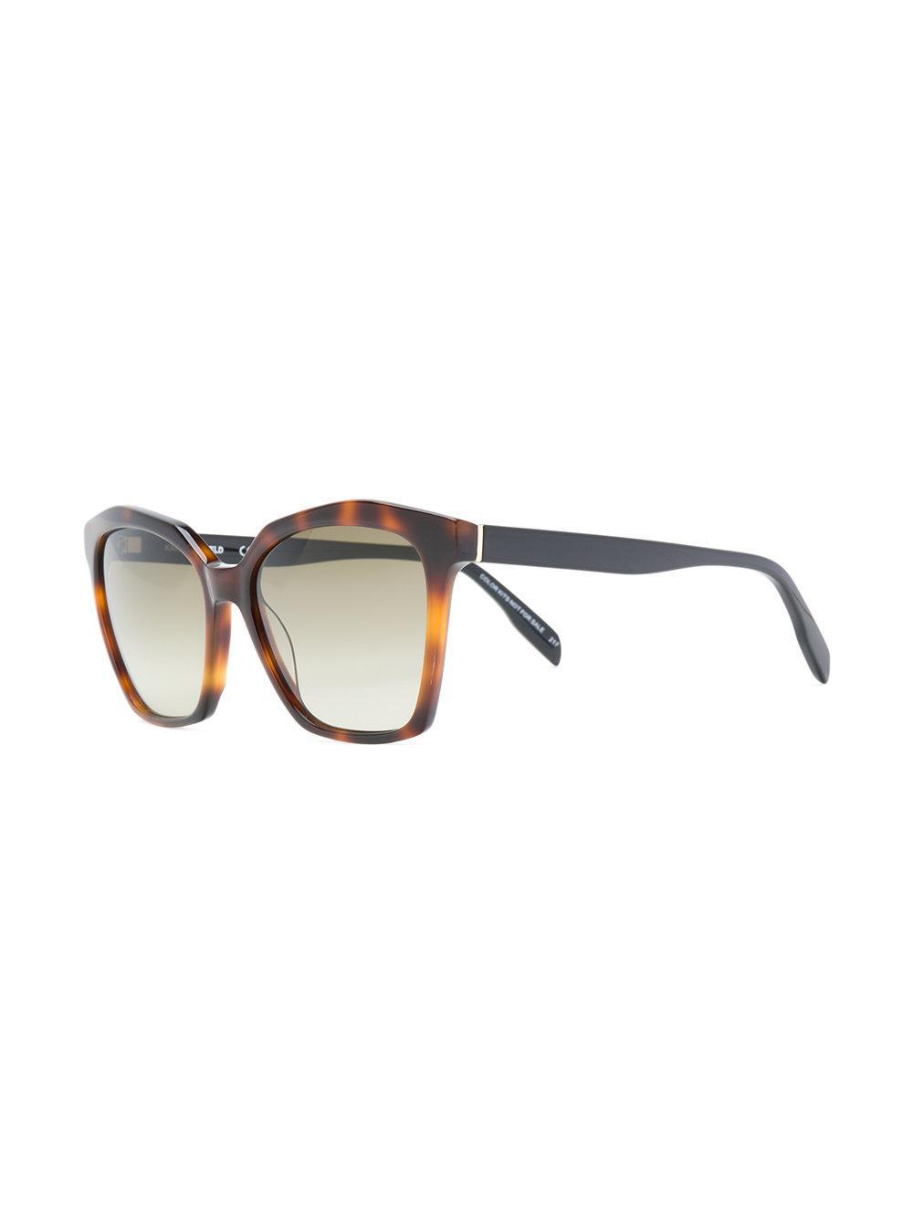 Gafas De Sol Del Camafeo De La Barra Gris - Karl Lagerfeld Rloodu0Y
