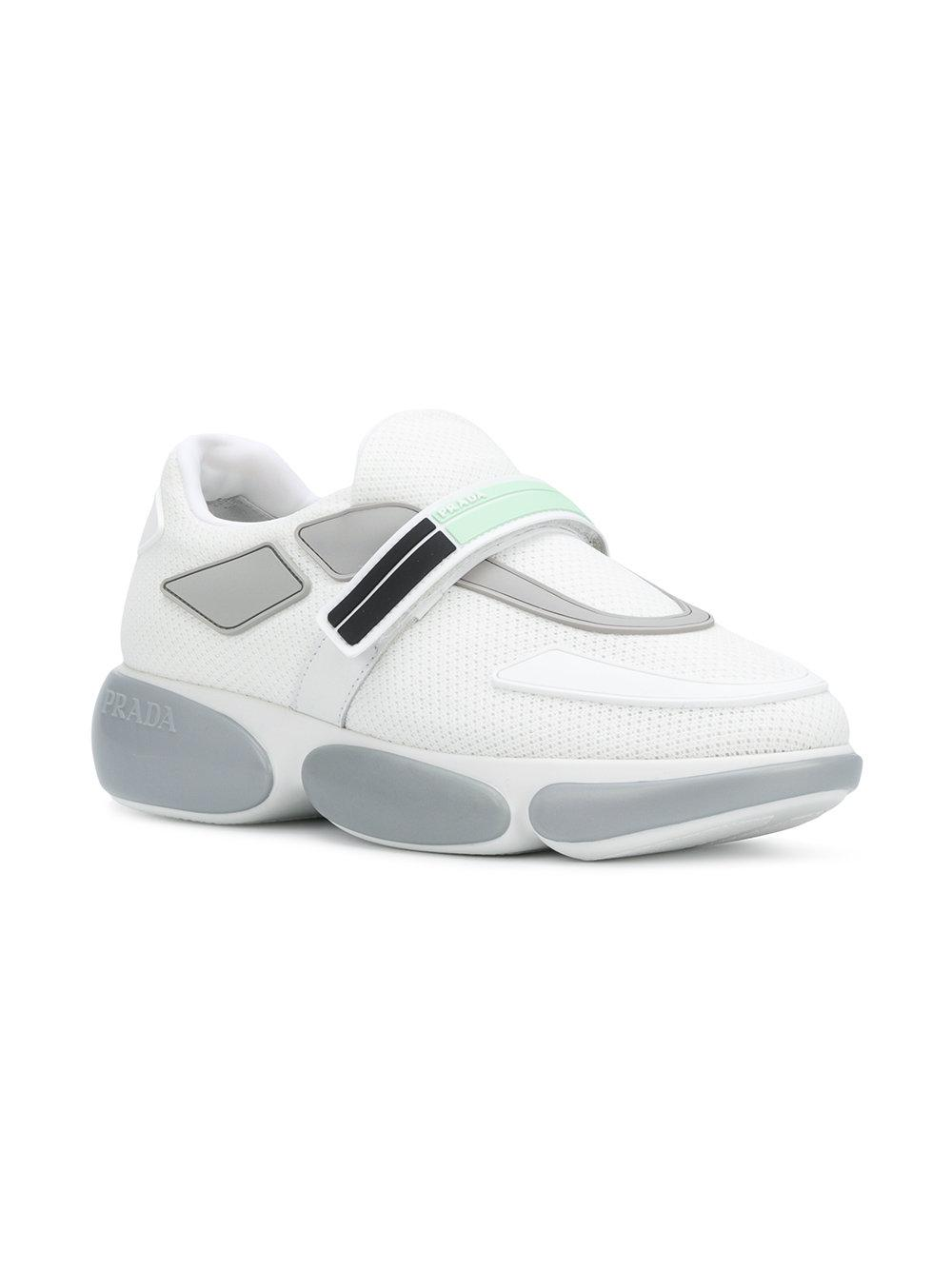 PradaBubble Logo Sneakers
