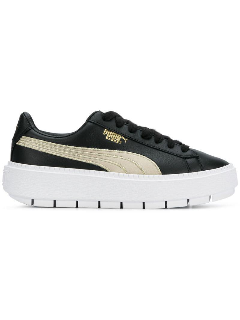863141a70ef466 Lyst - PUMA Trace Varsity Sneakers in Black - Save 7%