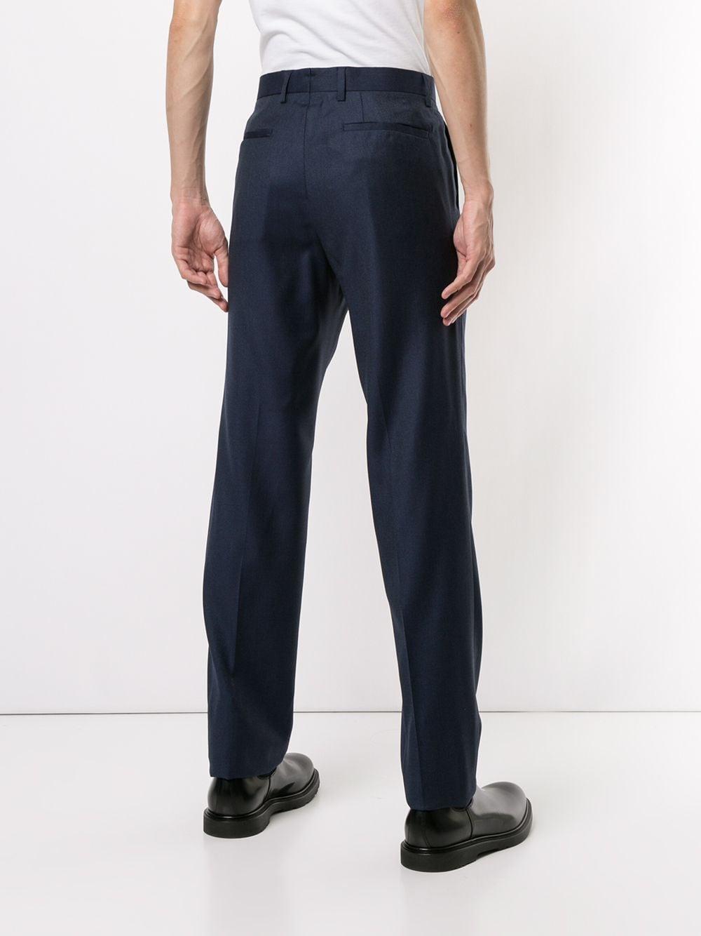 Cerruti 1881 Wol Pantalon in het Blauw voor heren