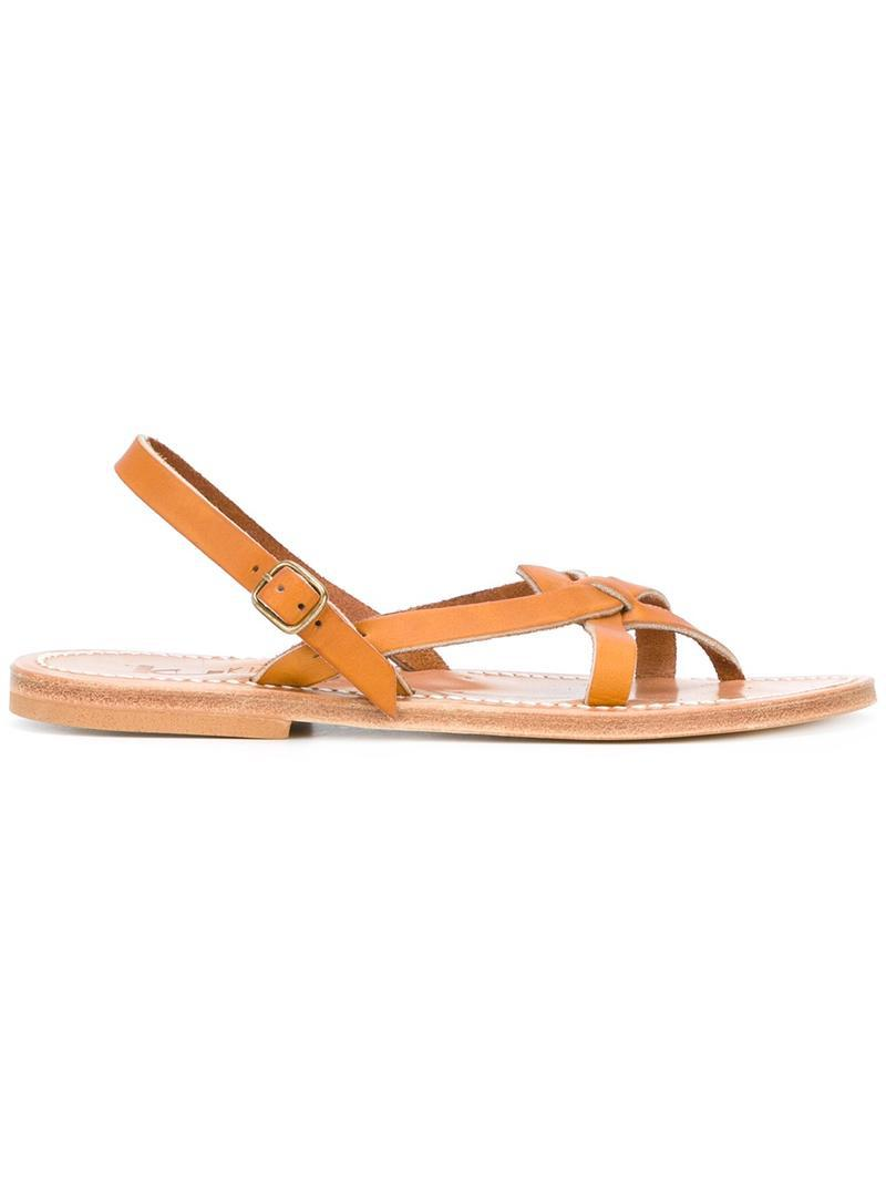 White Orion sandals K.Jacques YFGaSKVJ3