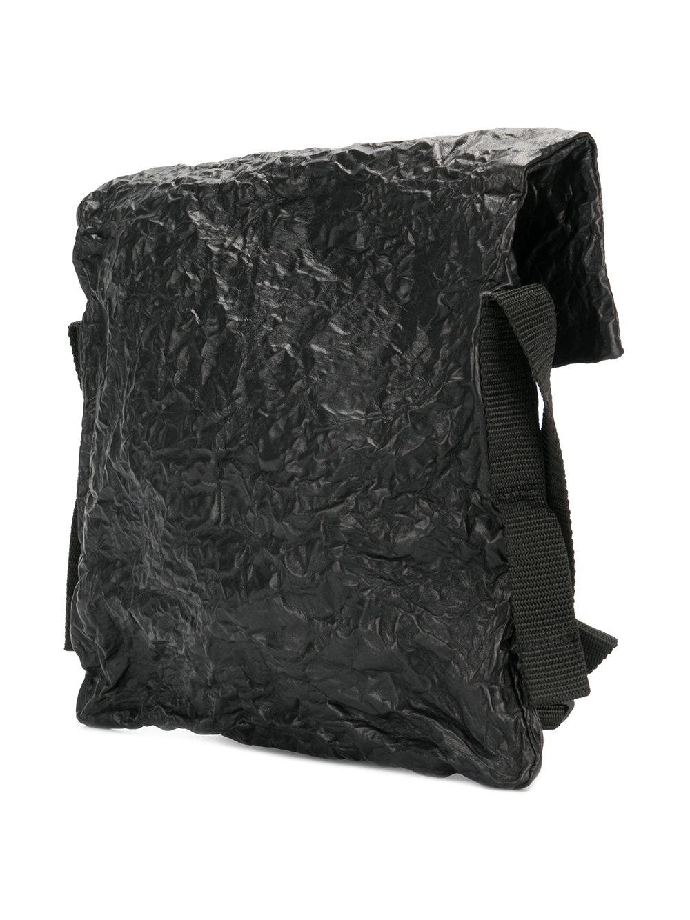 Rundholz Textured Crossbody Bag in Black