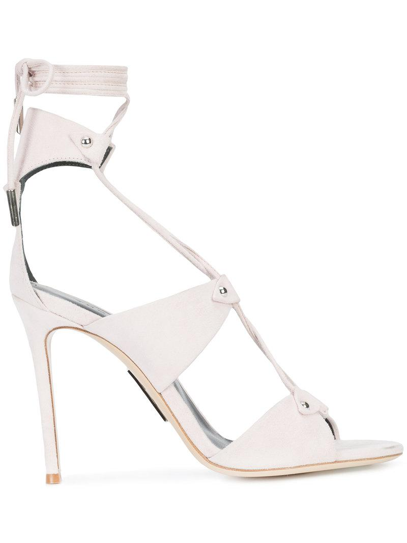 lace up sandals - Nude & Neutrals Thomas Wylde BJQnKY3U