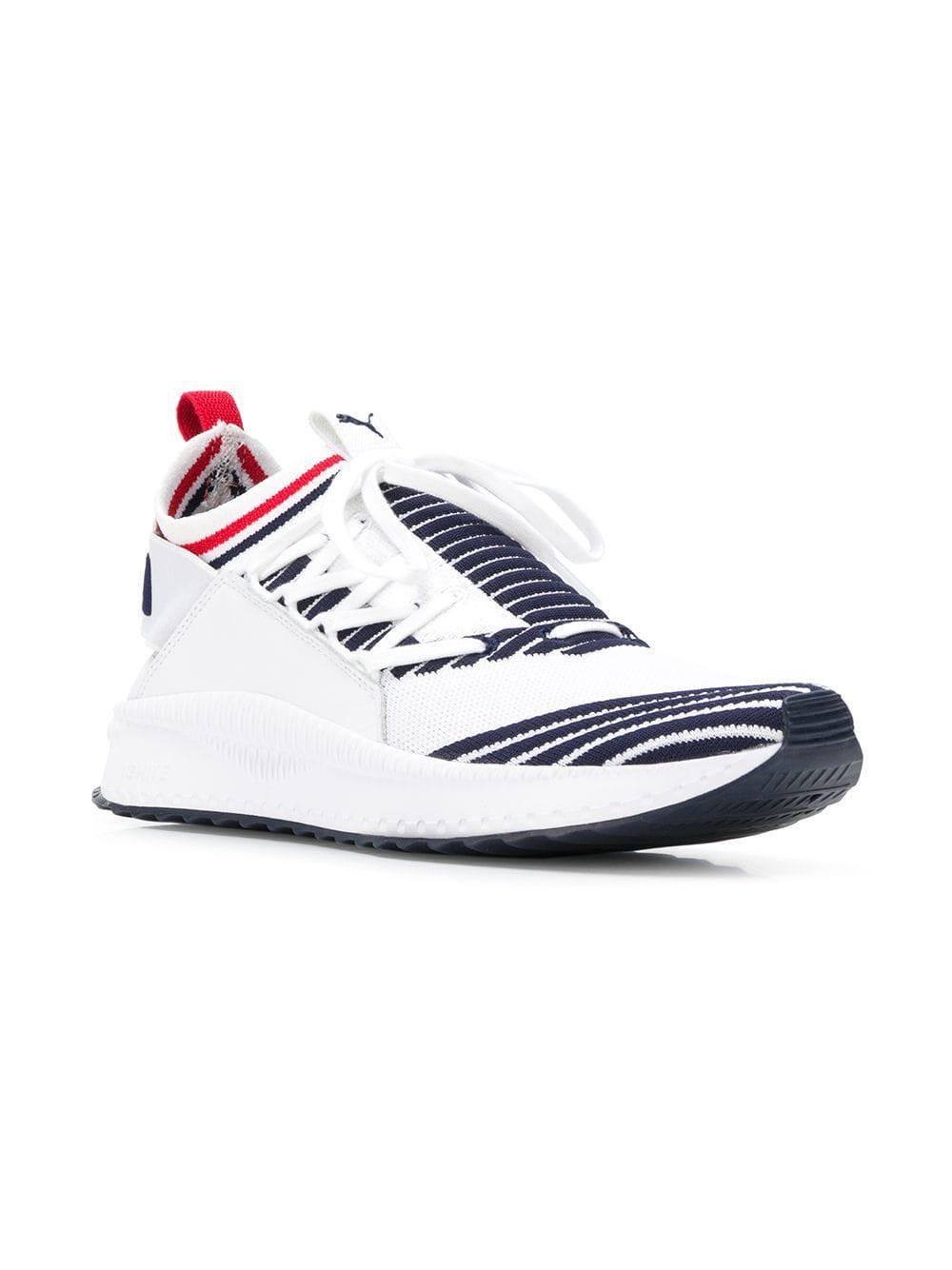 7f0e9bd54e9 Puma Tsugi Jun Knit Sneakers in White for Men - Lyst