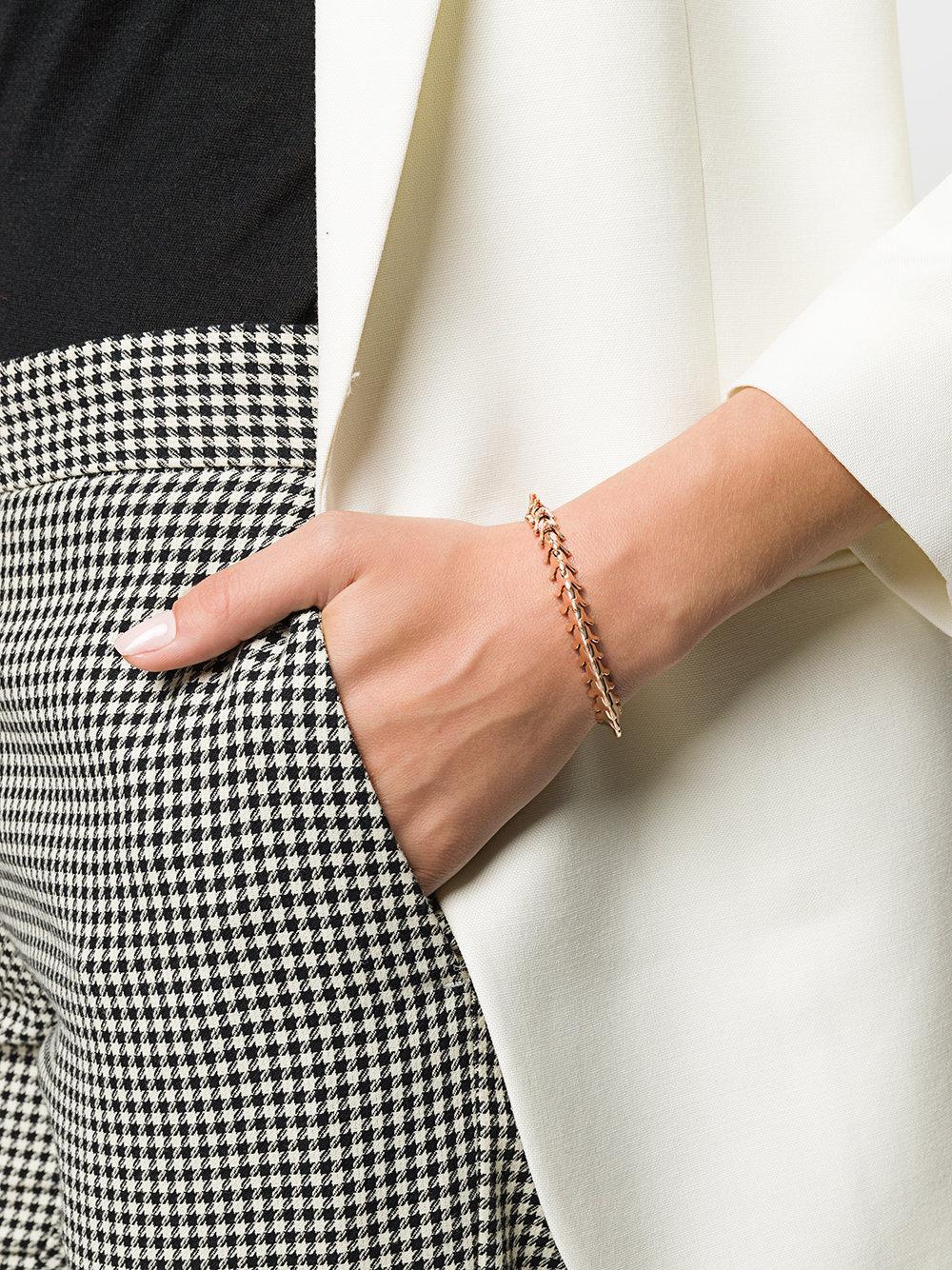 f86079562 Shaun Leane Serpent Trace Slim Bracelet in Metallic - Lyst