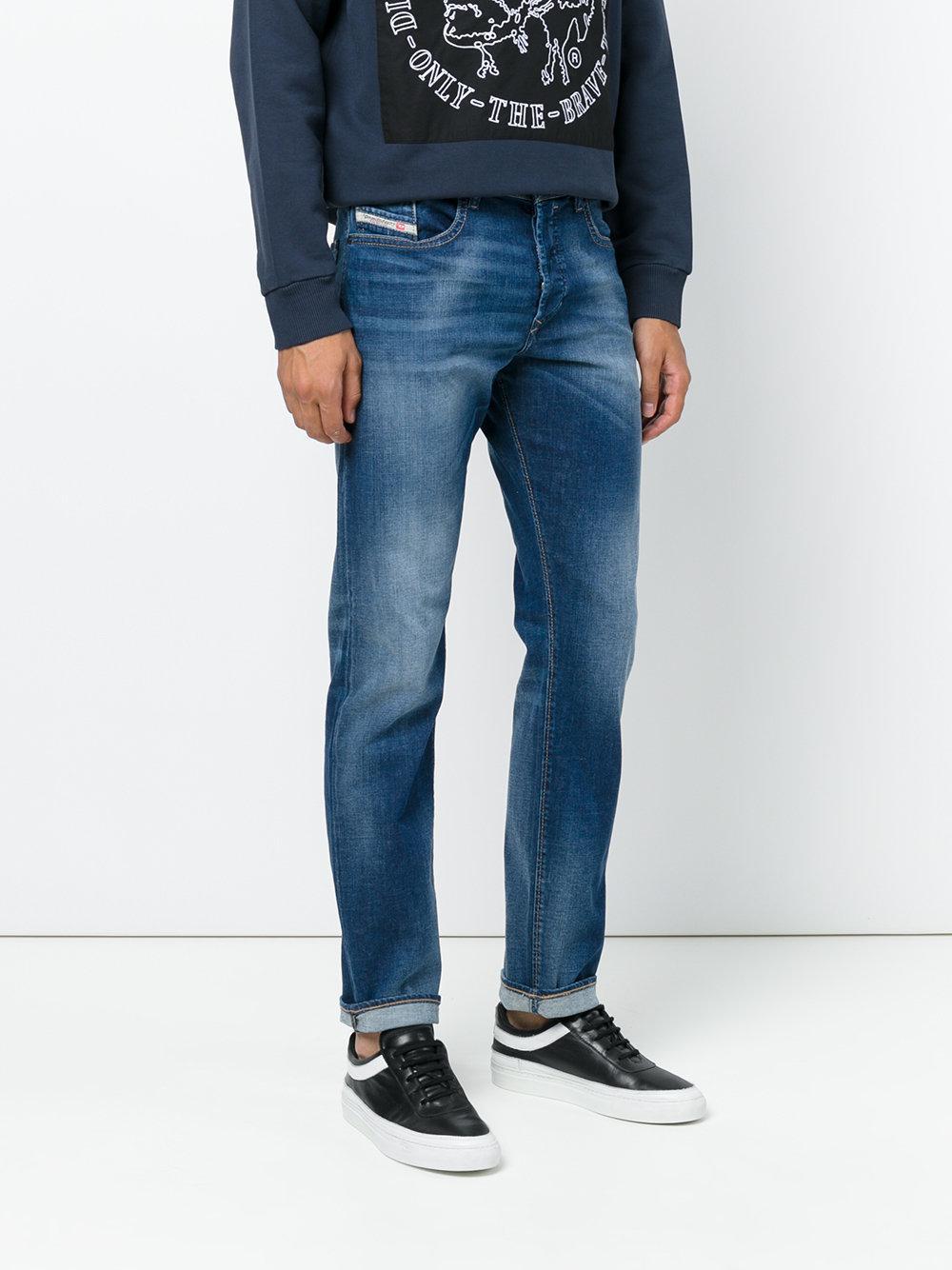 diesel buster jeans in blue for men lyst. Black Bedroom Furniture Sets. Home Design Ideas