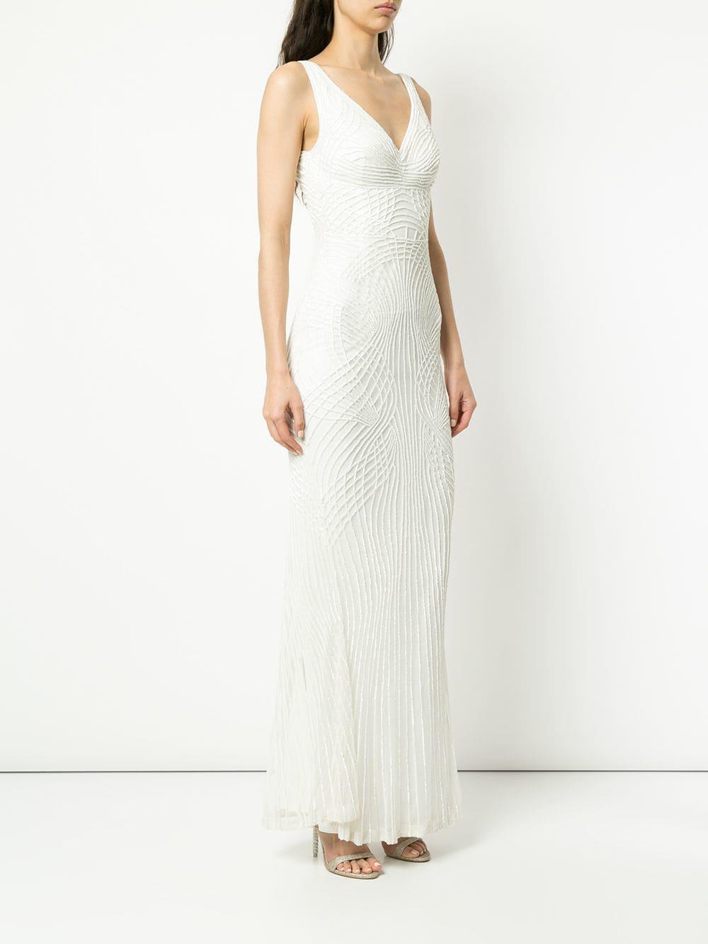 Robe longue Pepe Rachel Gilbert en coloris Blanc
