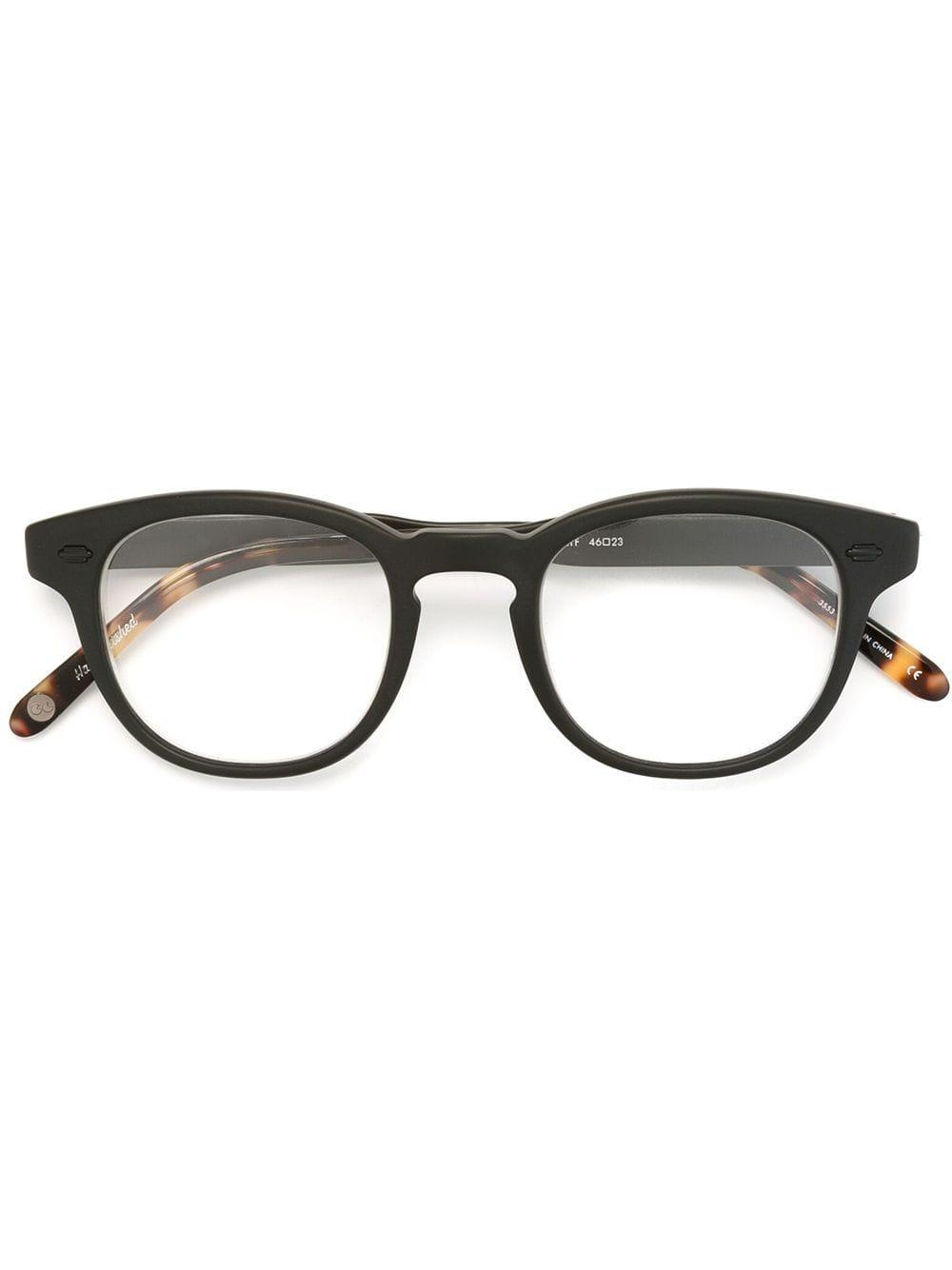 18a5dde904 Lyst - Garrett Leight Matte  warren  Optical Glasses in Black for Men