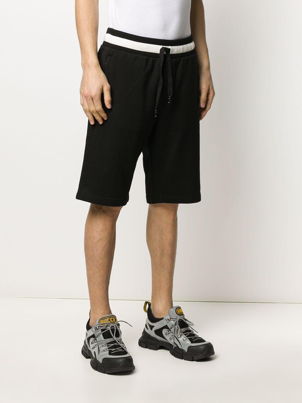 Dolce & Gabbana Katoen Trainingsshorts in het Zwart voor heren