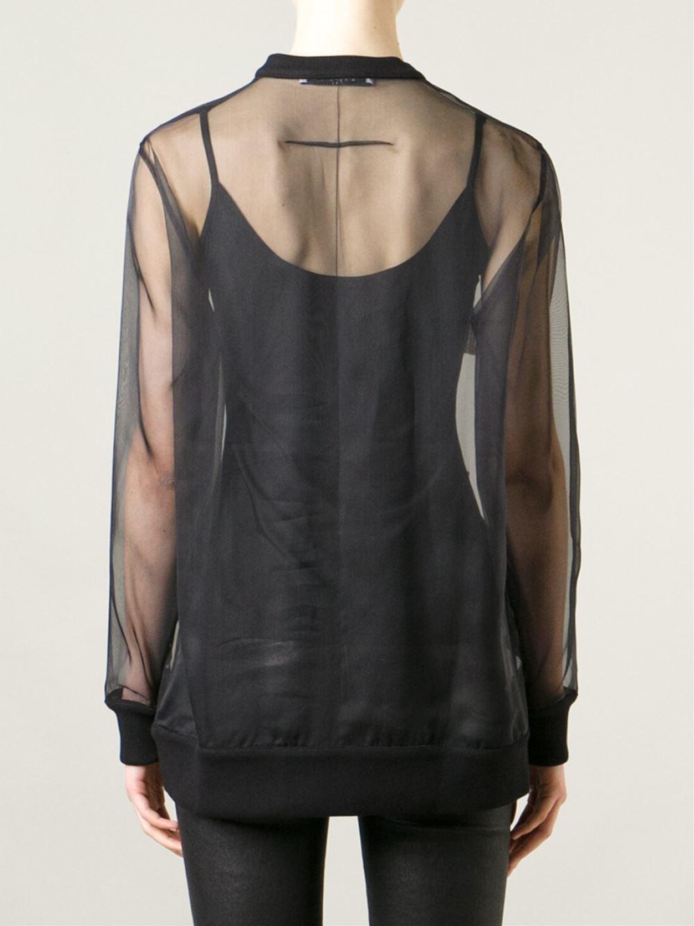 lyst givenchy 39 pervert 17 39 t shirt in black. Black Bedroom Furniture Sets. Home Design Ideas