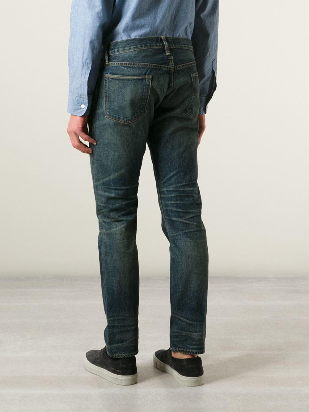 Simon Miller Denim Regular Fit Jeans in Blue for Men