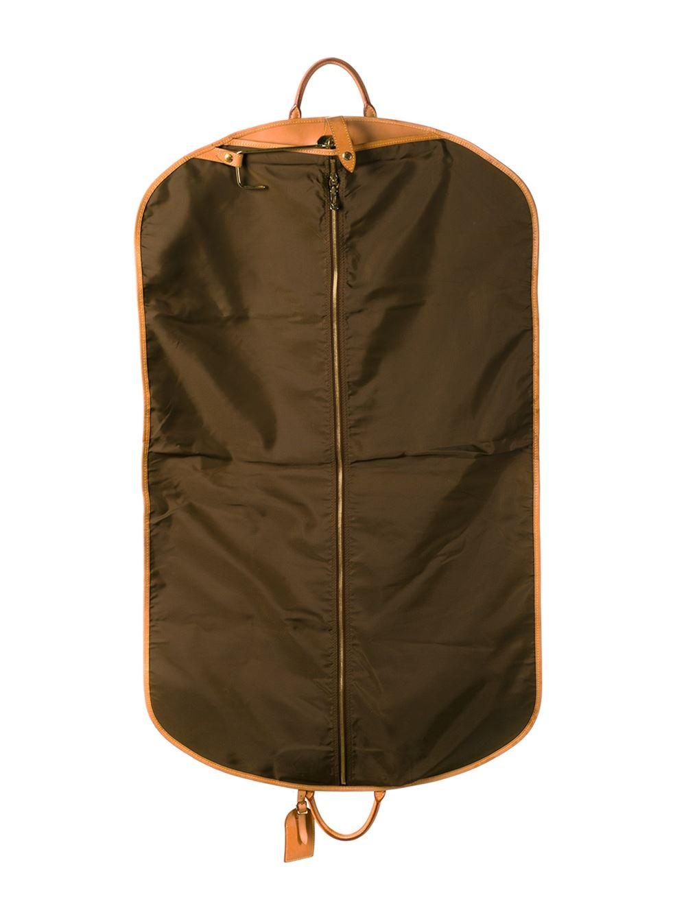 Lyst louis vuitton garment cover with handles in brown for Housse a costume