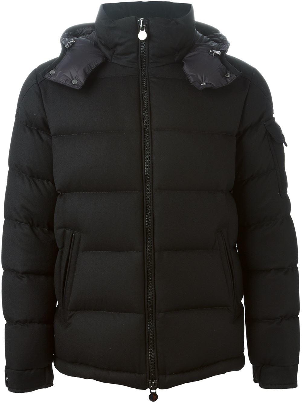 Moncler 'montgenevre' Padded Jacket in Black for Men | Lyst