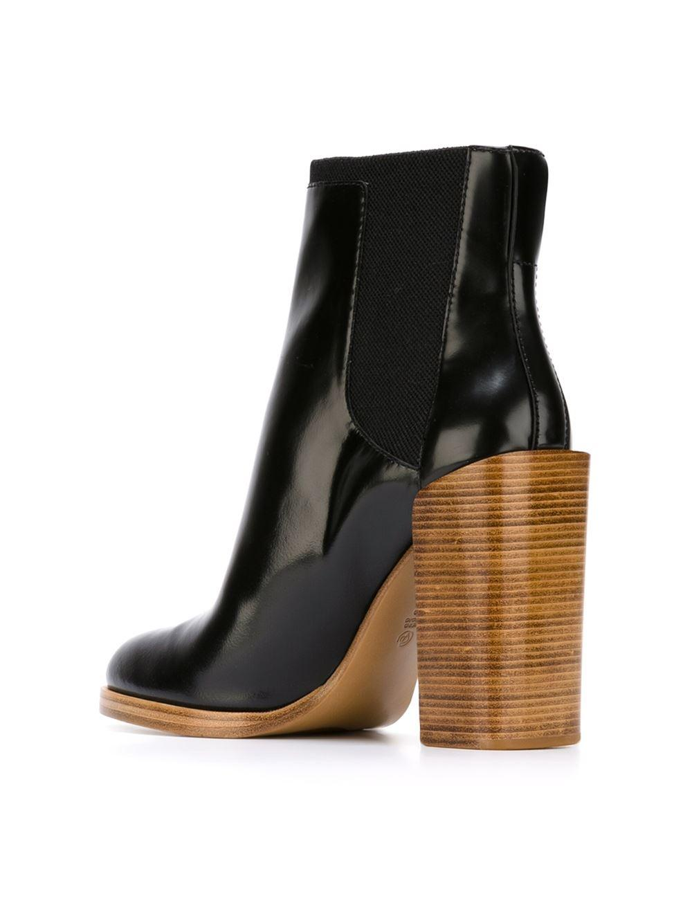 3.1 Phillip Lim Leather 'emerson' Chelsea Boots in Black