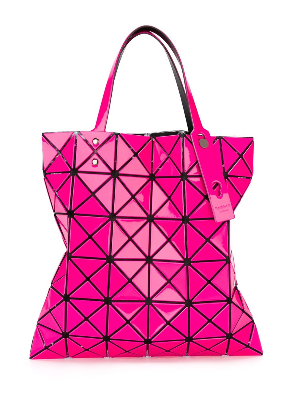 Bao Bao Issey Miyake Synthetic 'prism' Tote in Pink/Purple (Pink)