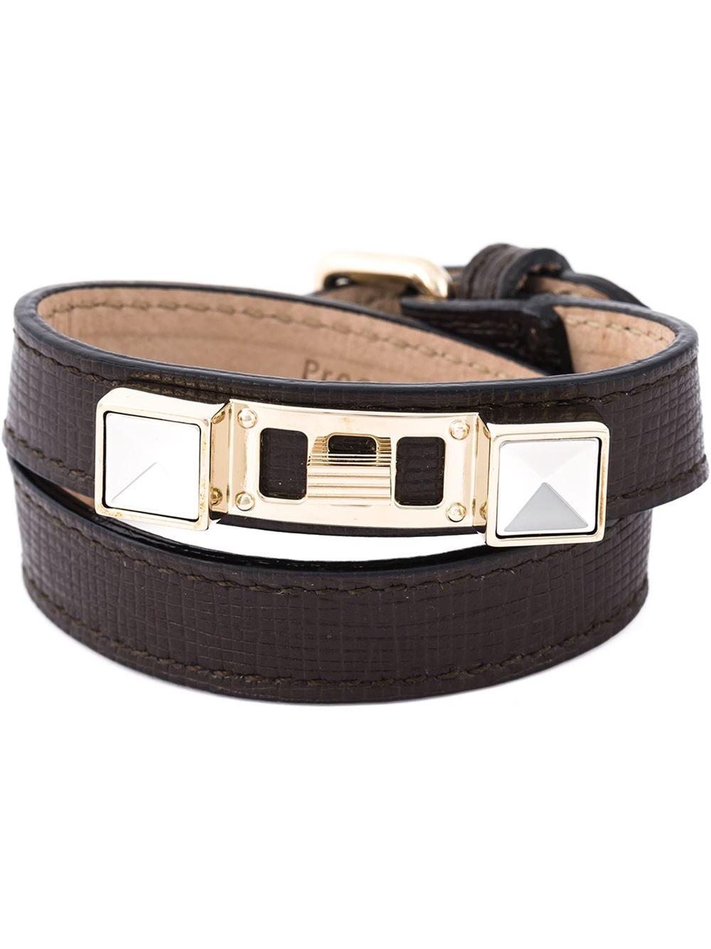 Lyst Proenza Schouler Ps11 Bracelet In Brown