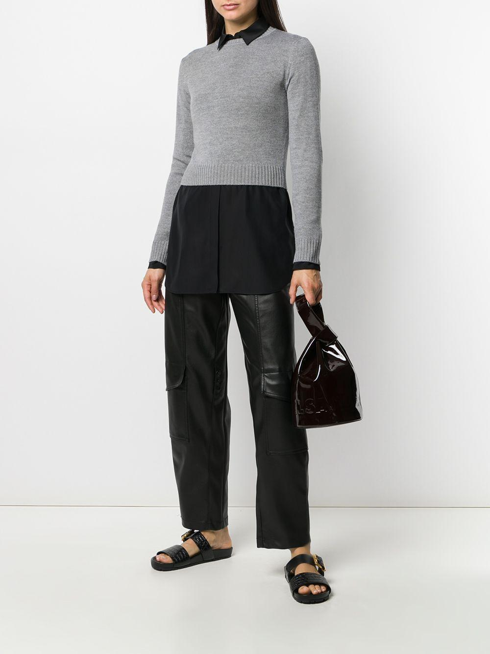 Camisa oversize Jil Sander de Seda de color Negro