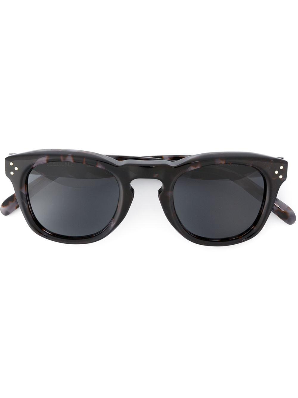 3caf7e89c15ad Céline  bevel Square  Sunglasses in Gray - Lyst