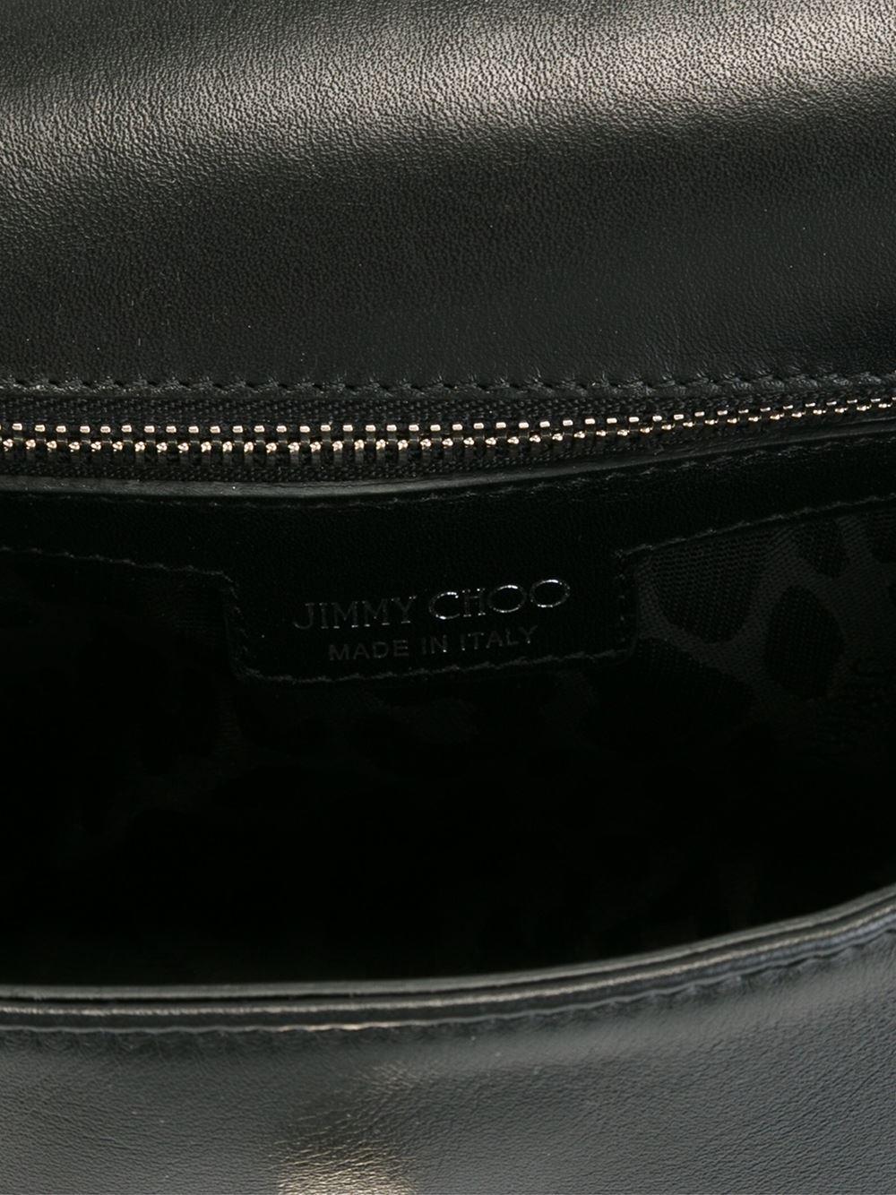Jimmy Choo 'ruby' Crossbody Bag in Black