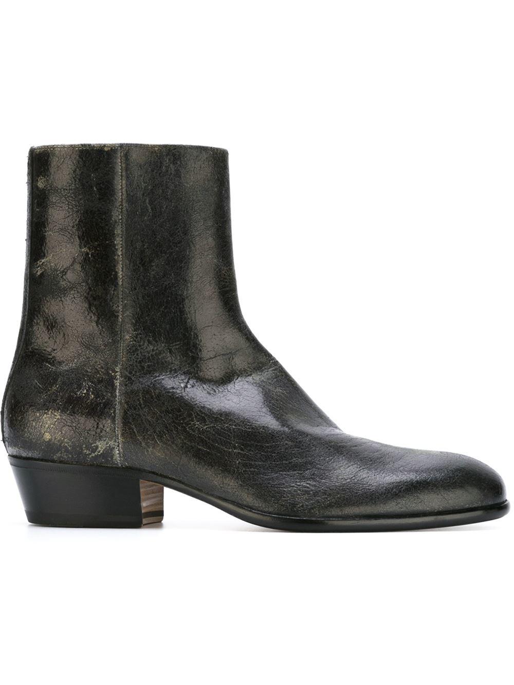 Maison Margiela Leather Cuban Heel