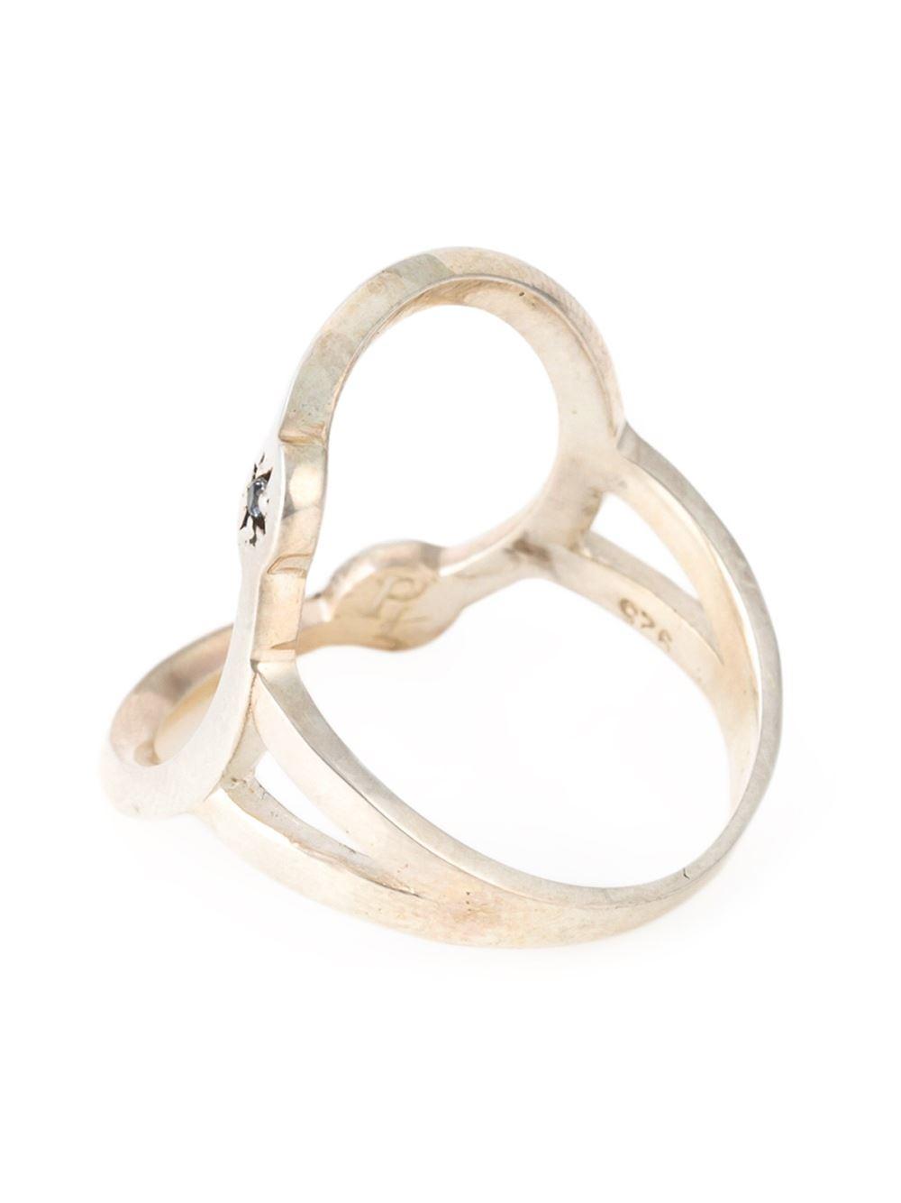 Pamela Love  U0026 39 Orbit U0026 39  Ring In Metallic